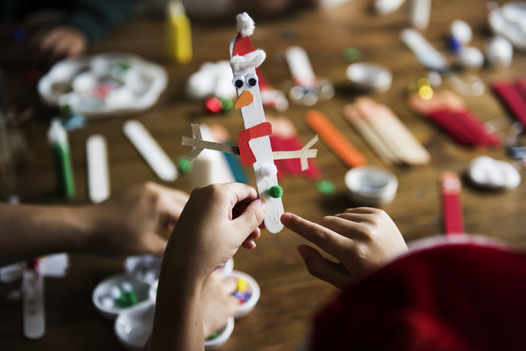 Kids Christmas DIY projects
